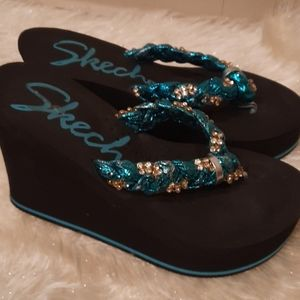 Skechers Bling Wedges